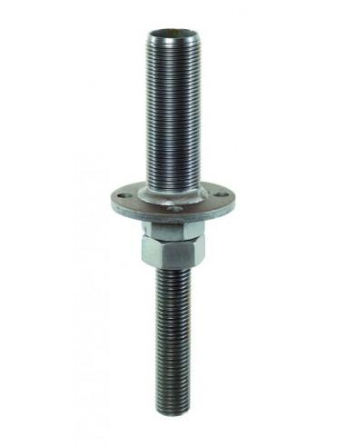 Pied de poteau encastrable - Emboitement M44